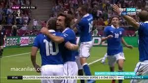 28.06.2012 - UEFA EURO 2012 Semi Final Match Germany 1-2 Italy - Avrupa  Futbol Şampiyonası Almanya 1-2 İtalya - Dailymotion Video