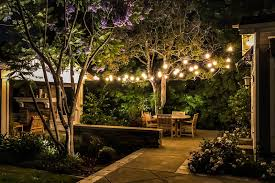 Pergola String Lights Awesome Bistro String Lighting Concepts In Orange County