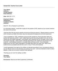 Ideas Collection Fresher English Teacher Cover Letter Samples For