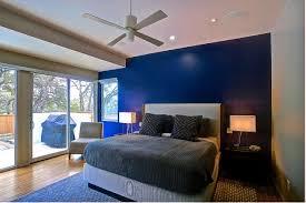 modern bedroom blue. Blue Bedroom Modern Home P