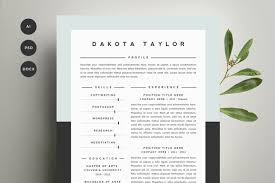 resume template 4 pack cv template5 how to get resume