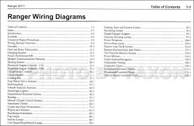 2009 ford ranger wiring diagram 2009 image wiring 2011 ford ranger wiring diagram manual original on 2009 ford ranger wiring diagram