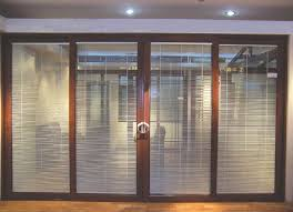 Sliding door blinds Blackout Aluminum Sliding Door Blinds Classy Door Design Best Sliding Door Blinds Classy Door Design