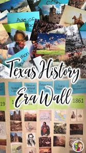 best social studies products on tpt images  texas history eras word wall
