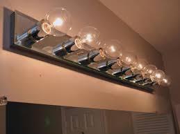 chrome bathroom wall lamp