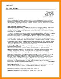 Claims Adjuster Resume Simple Sample Claims Adjuster Resumes Radiovkmtk