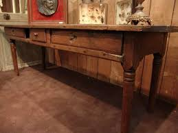 vintage console table. 18th-century-french-table-in-chestnut-1.jpg Vintage Console Table