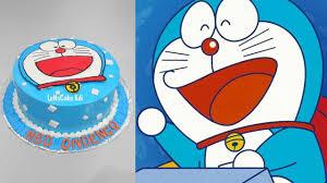 Doraemon Cake Decoration How To Make Birthday Cake Youtube
