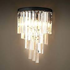 chandelier candle wall sconce factory modern art decor vintage crystal lamp light lighting for holder