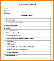 8-9 Samples Of Agenda For Meetings Template | Nhprimarysource.com