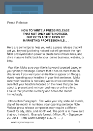 Drive Mad Internet Traffic Press Release
