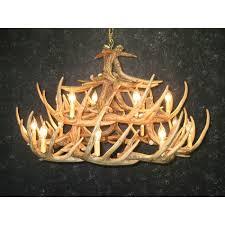 whitetail 24 antler chandelier