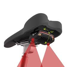 <b>Meilan X5 Bicycle</b> Laser Tail Light with Turn Signals Auto Control ...