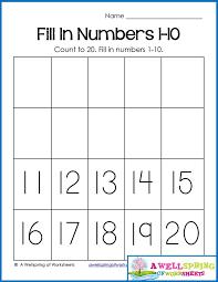 13 best Number Worksheets images on Pinterest | Kindergarten math ...