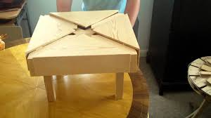 Expanding Tables Expanding Square Table Part 5 Youtube