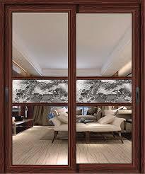 best aluminium interior tempered glass sliding door for villa