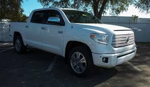 New 2017 Toyota Tundra Platinum CrewMax in Jacksonville #77071 ...