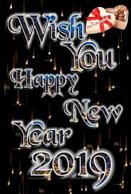 🎉 Happy New Year 2019 Images mahboob - ShareChat - Funny, Romantic ...
