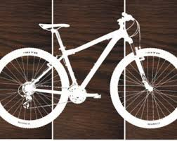 mountain bike wall decor
