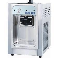 blue ice table top ice cream machine t15