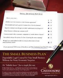 Small Business Plan | The Creekmore Law Firm Pc