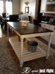 amazing rustic kitchen island diy ideas 20