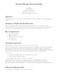 Resume Objective Examples For Retail Retail Assistant Manager Resume Objective Examples Spacesheep Co