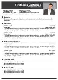 Curriculum Vitae Generator New Resume Generator Free Builder Trenutno