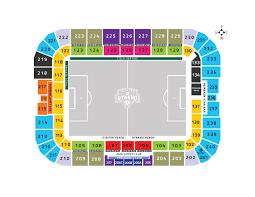 Seating Map Bbva Stadium