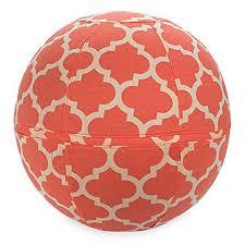 Gaiam Balance Ball Chair Cover Cora Yoga Ball Pinterest