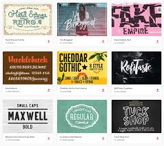 by joining envato elements you gain access to plenty of fonts as well as many other useful design elements all of this is available for a single monthly