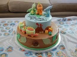 Justins Third Birthday Dinosaur Train Cake Cakes Made By My