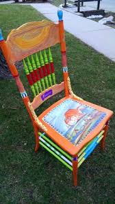 hand painted prrrrfect chair by carolyns funky furniture carolyn funky furniture