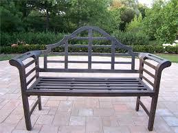 aluminum garden bench. Delighful Aluminum Startling Design Ideas Steel Patio Outdoor Metal Amazing Of  Bench Cast Aluminum Garden Benchjpg With M