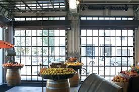 insulated glass garage doors roll up glass garage doors aluminum commercial insulated glass garage doors s