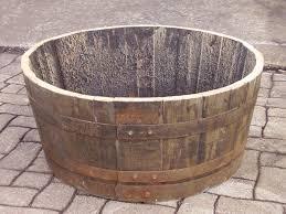 storage oak wine barrels. Storage Oak Wine Barrels. Half Whiskey Barrel With Drainage Holes Garden Planter, Tub Barrels E