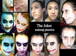 dark knight joker makeup by makeupdess