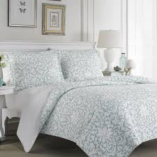 72 best Quilts/Bedding images on Pinterest | Queen, Quilt bedding ... & Add a soft touch to your bedroom with this beautiful cotton blend quilt set  by Laura Adamdwight.com