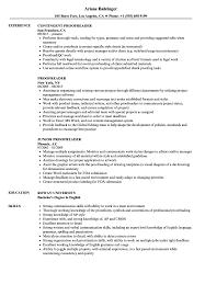 Proofreader Resume Samples Velvet Jobs