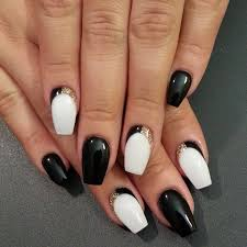 Cool Nail Designs With Black And White Nail Art 457 Best Nail Art Designs Gallery Bestartnails Com