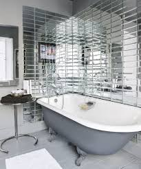 modern bathroom tiles. Modern Bathroom With Mirrored Metro Tiles Tile Ideas Forng Shower Wall Ideasbathroom Pictures I