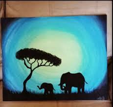best 25 elephant paintings ideas on art