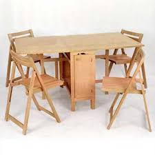 elegant folding table and chairs. elegant drop leaf table with chair storage folding chairs stored inside woodworking diy and