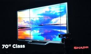 70 Inch Flat Screen Tv Photo Of Sharp Panel