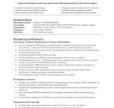 Sample Resume For Linux System Administrator Fresher Experiencednux Systems And Network Administrator Resume Sample 11