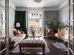 swedish apartment with touches of 1920s