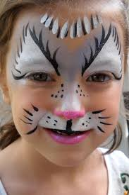 face paint for kitty cat face