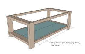 large size of average coffee table dimensions ana white rustic x diy projects how high should