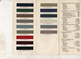 Morris Minor Colours Chart Morris Minor Colours Google Search Morse Code Morse