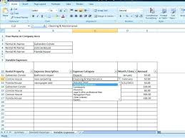 Excel Expenses Template Excel Business Expense Tracker Template